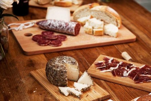 Ronda Cheese, ham, salami