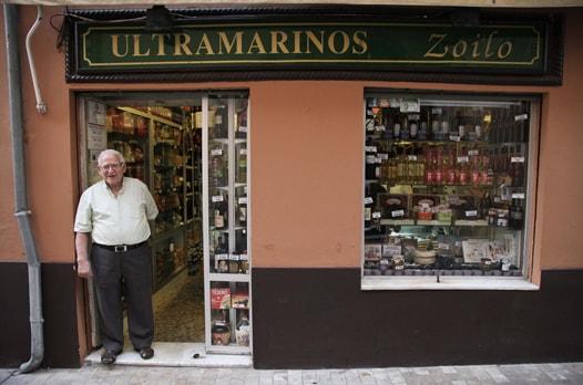 ultramarinos Zoilo in Malaga