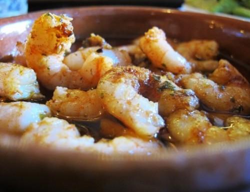 Gambas Pil Pil Rezept (Garnelen in knoblauchöl) | Spain Food Sherpas