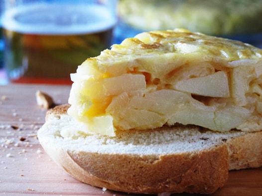 Spanish Omelette|La Tortilla Espanola
