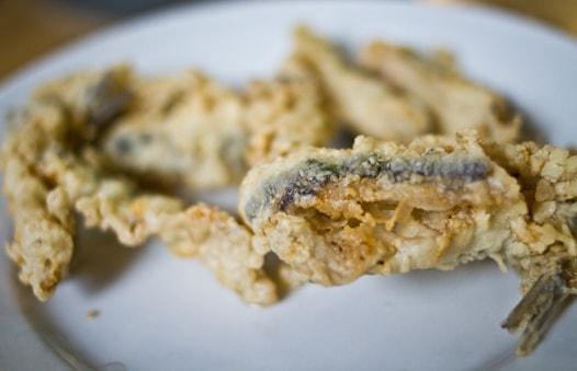 malaga fried anchovies