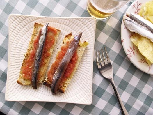 anchovies tapa