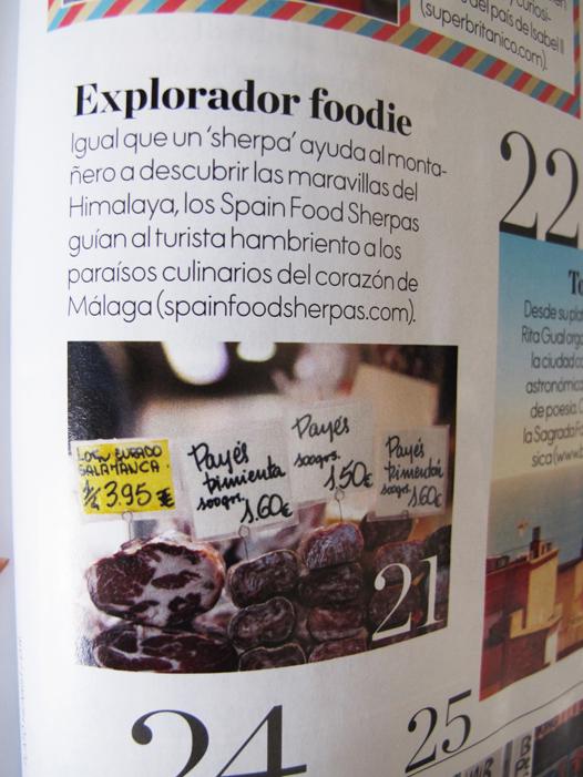 Malaga foodie