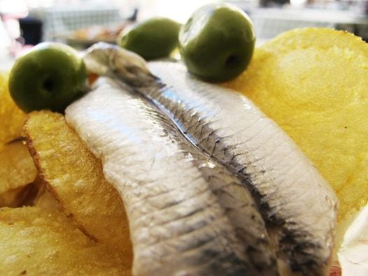 malaga white anchovies