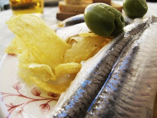 anchovis mit esig