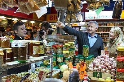 Malaga Atarazanas central Market