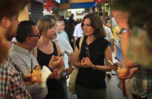 Malaga Food market tour