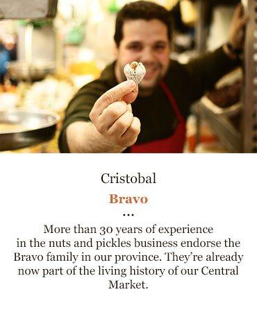 cristobal almonds malaga market tour