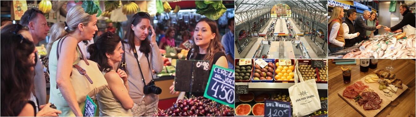 malaga food market visit