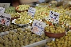 olives malaga market