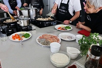 private cookery classes malaga