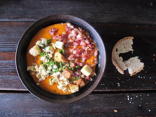 ... ? Antequera style Porra? Andalusian gazpacho? Malaga style zoque