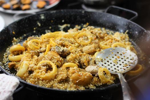 paella cooking classes malaga