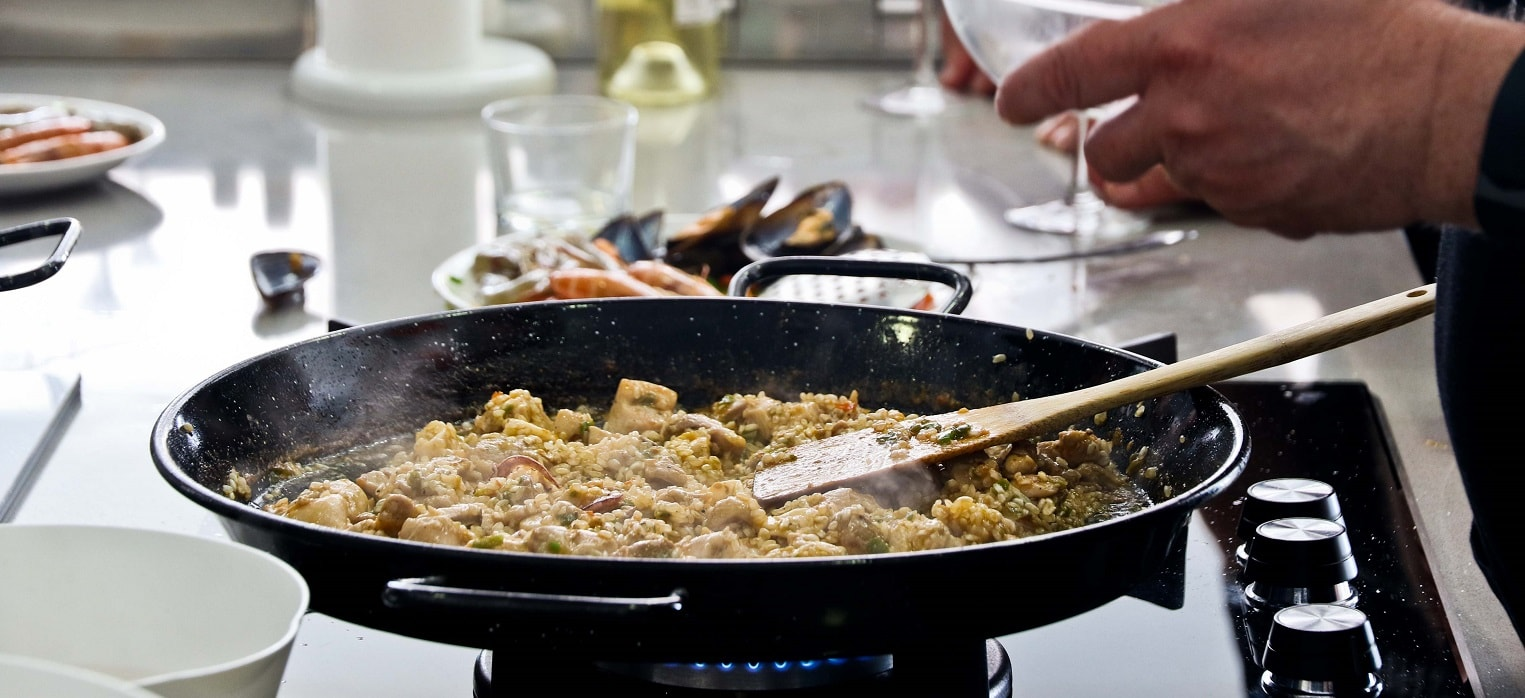 paella cooking classes in malaga