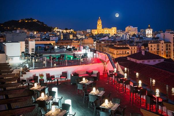 Die Besten Dachterrassen Bars In Malaga