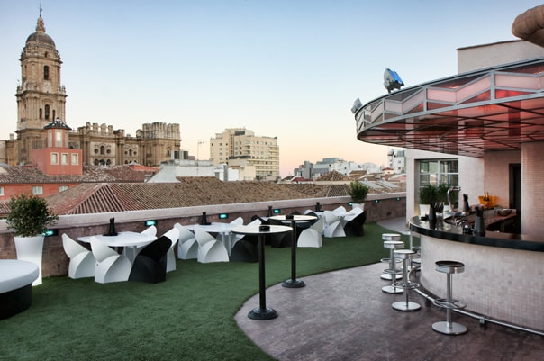Room Mate Larios rooftop