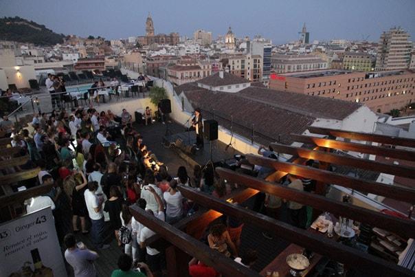 molina lario hotel rooftop concert