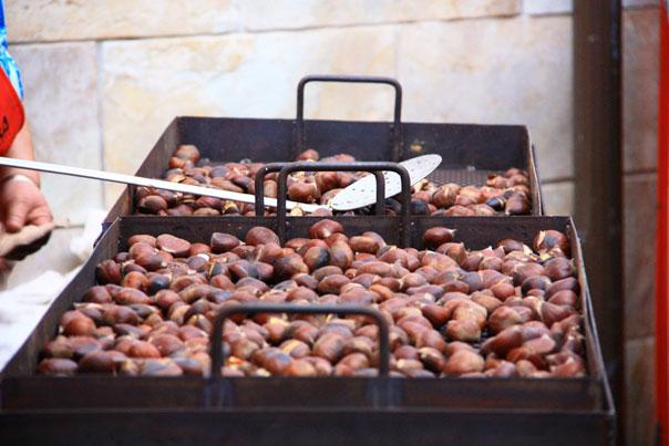 chestnut and wine festival Yunquera