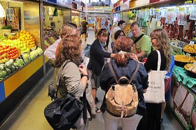 malaga market tour