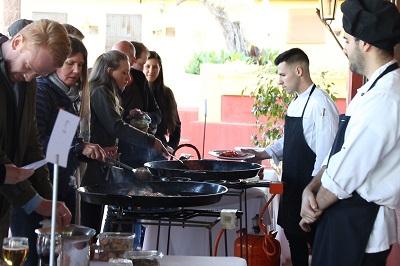 paella team building event