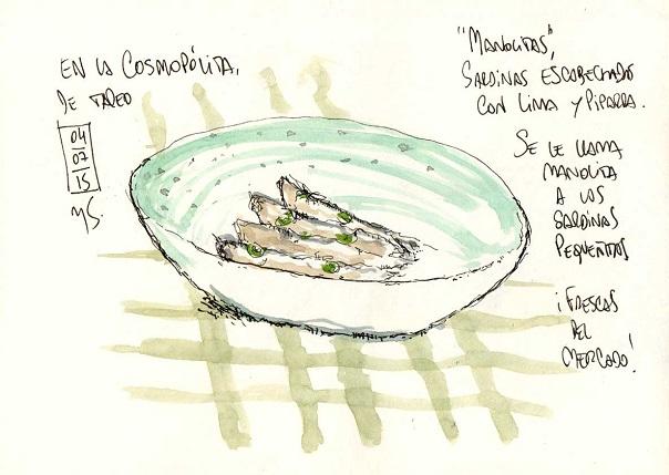 La cosmopolita sardines Michael schmidt
