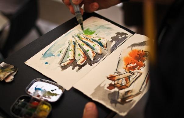 Luis Muriel sardines Malaga