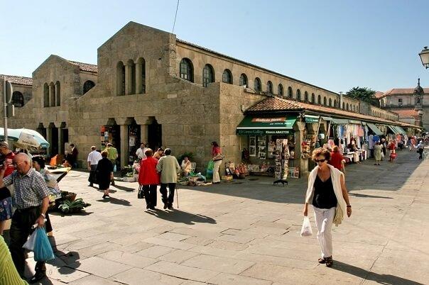 Mercado de Abastos. Turismo de Santiago 1