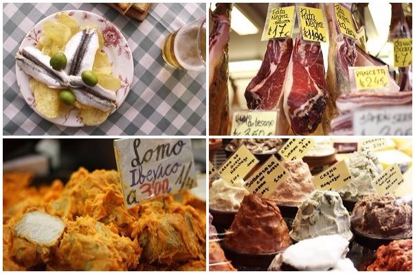 what to eat in atarazanas market