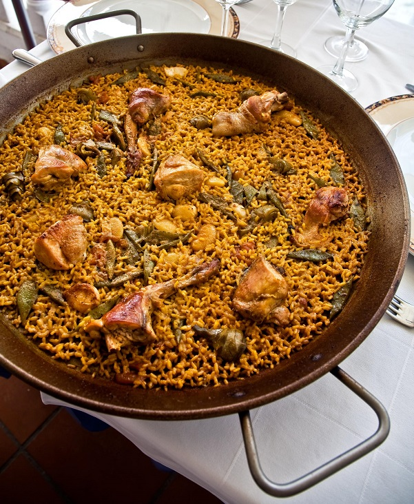Paella Valenciana Recipe The Traditional Paella Valenciana