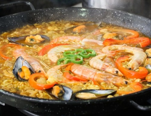 Meeresfrüchte Paella aus Malaga Rezept