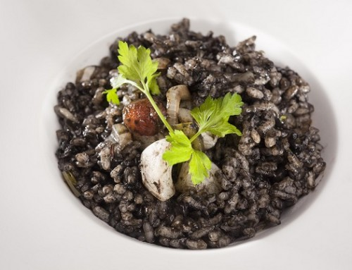 Black rice squid ink recipe-Arroz negro
