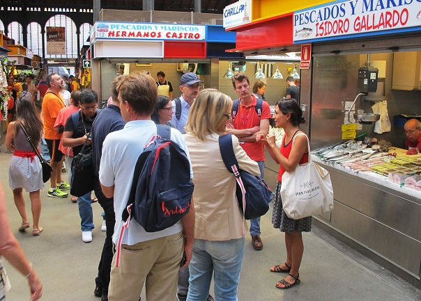 atarazanas food market group visit