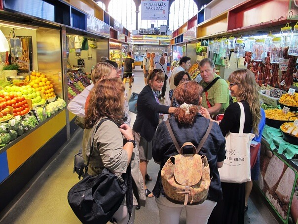Malaga Central Market tour. Andalucia Reloaded