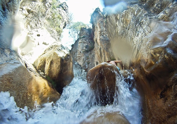 higueron river frigiliana
