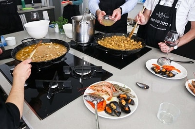 private cookery courses in malaga