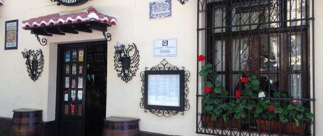 chikito local restaurant in granada