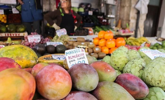 fruit street stall granada tour