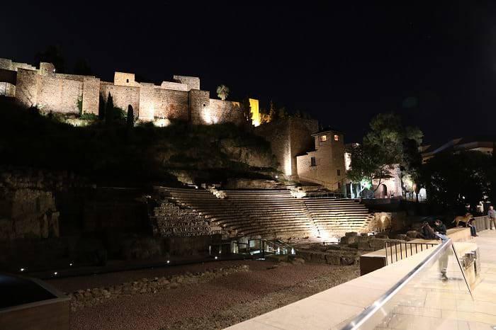 alcazaba roman theatre