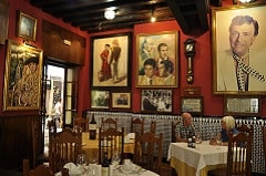 traditional local restaurant malaga