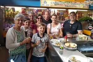 private family tapas tour in malaga