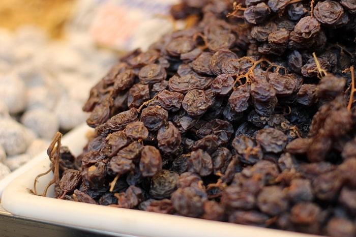 raisins malaga