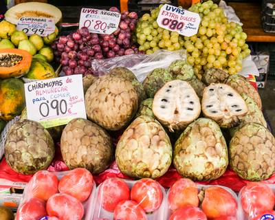tropical fruits cherimoya granada