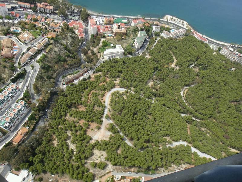 Aerial View, Parque del Morlaco