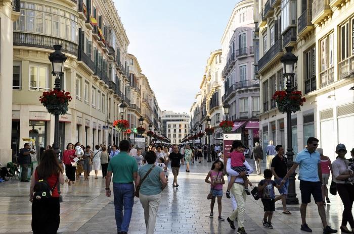 larios street malaga
