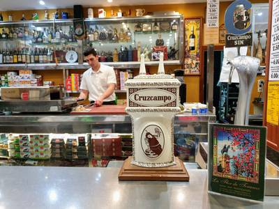 traditional tapas bar seville