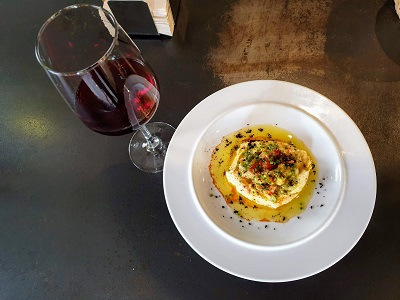 wine hummus and guacamole seville