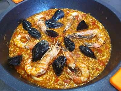 paella cooking class granada