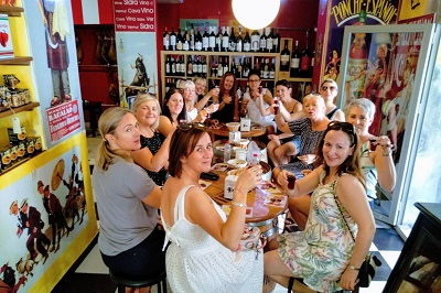 corporate daytime tapas tour in malaga