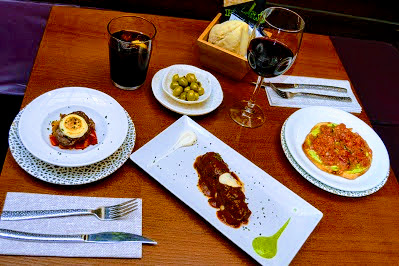 avant gard tapas in seville last stop spain food sherpas flamenco tour