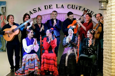 flamenco group seville old town